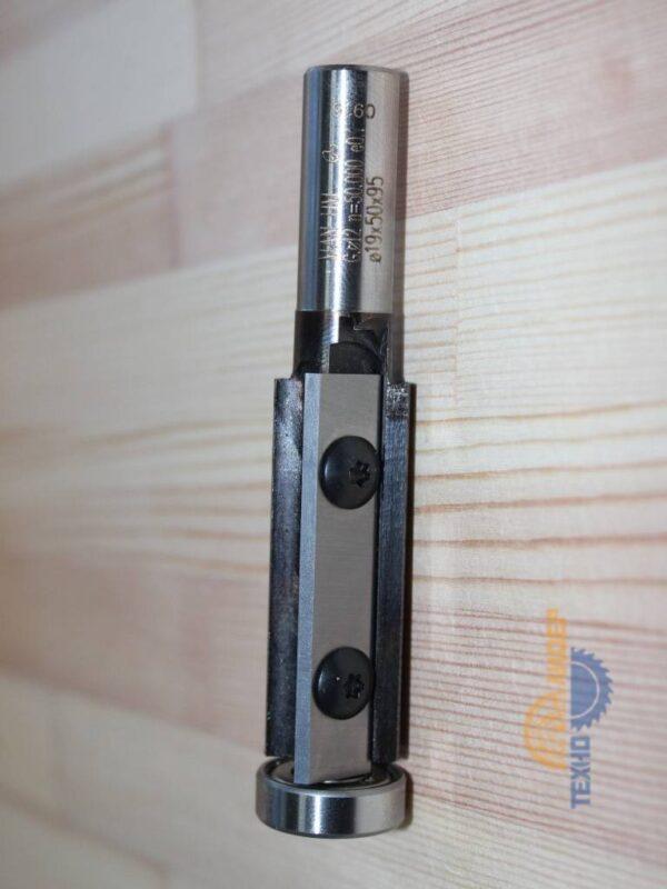 2538 Фреза прямая с подшипником сменные ножи D19 d12 h50