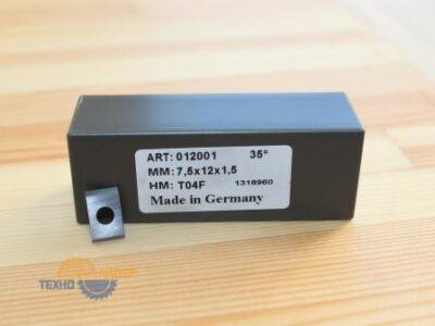 Пластина твердосплавная 7.5х12х1.5 мм T04F (Tigra) 012001