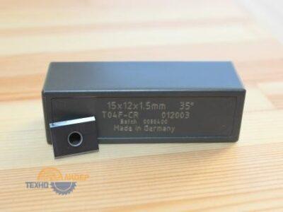 Пластина твердосплавная 15*12*1.5 мм T04F (Tigra) 012003