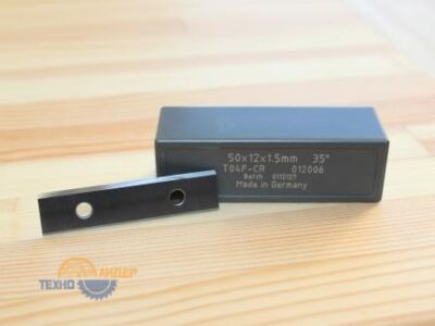 Пластина твердосплавная 50х12х1.5 мм T02UMG (Tigra) 115085