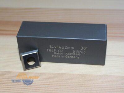 Пластина твердосплавная 14х14х2 мм T04F (Tigra) 013260