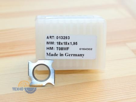 Пластина 18х18х1.95 мм T08MF  (013293) (Tigra)