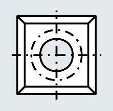 Пластина 14х14х1.2 мм T08MF (Tigra) 013295