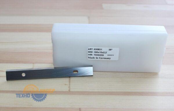 Нож сменный по ДСП, МДФ 100х13х2.2 T03SMG Tigra 030831