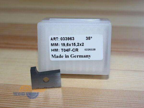 Пластина 19.6х15.2х2 R2 R T04F (для Brandt 5 серия) (Tigra) 033963