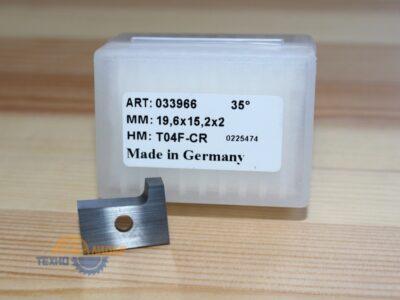Пластина 19.6х15.2х2 R2 L T04F (033966) (для Brandt 5 серия) (Tigra)