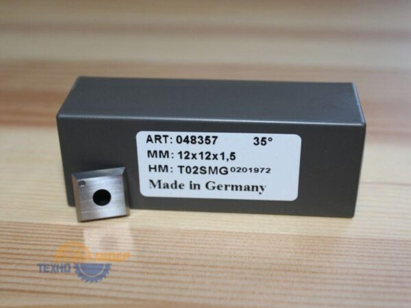 Нож сменный по МДФ, ДСП 12х12х1.5 z4 T02SMG Tigra 048357