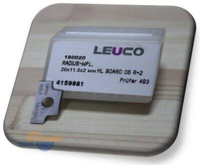 Пластина 20х11.5х2мм R=2 L (Leuco) 180020