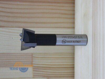 Сверло присадочное чашечное 22*57.5 R 14A220R (Ful)