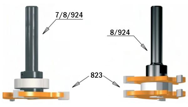 823.332.11 Фреза пазовая (диск) Z3 F=8 с зенк. D=47.6×3.2