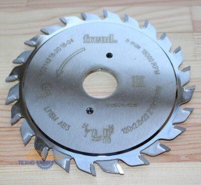 Пильный диск LI16M AB3 120×22 Z=12+12  (Freud)