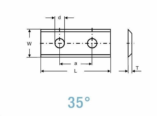 Пластина 50х12х1.5мм T02UMG (115085) (Tigra)