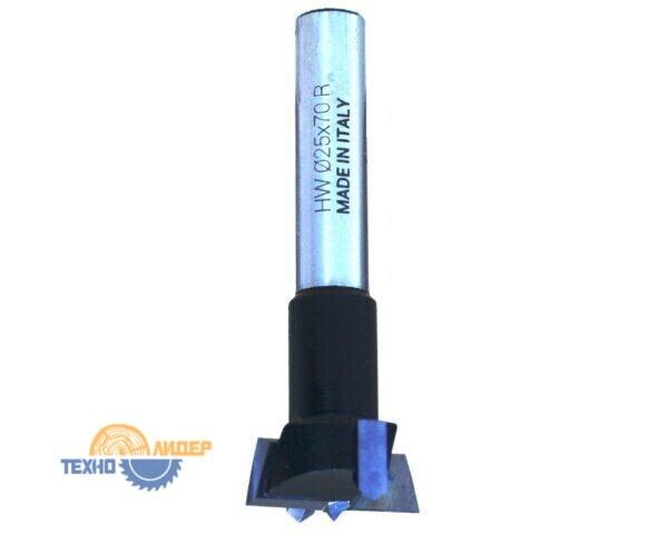 Сверло присадочное чашечное 25х70 RH правое S10x26 14F250R Ful