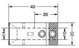 Чертеж патрона Maggi с указанием размеров в мм
