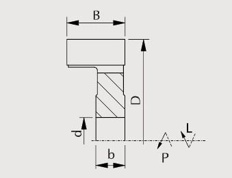 F43-0192SP - фреза насадная чертеж 2