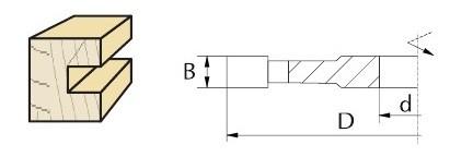 F43-0194S - фреза насадная чертеж2