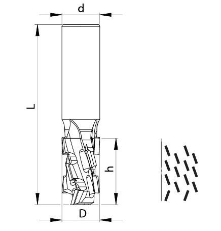 TDT08A - серия FABA чертеж
