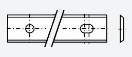 Tigra чертеж стандартной пластины