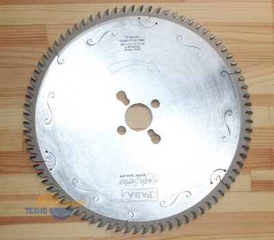 Пильный диск PI-506VS 250×3.2/2.2/30 Z=80 GA HW 2/10/60 2/7/42 2/9.5/46.5 (FABA) P0600177-15