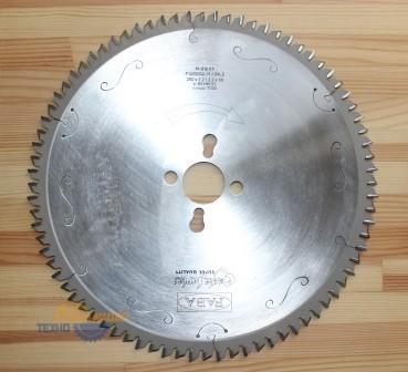 Пильный диск PI-512VT 250×3.2/2.2×30 Z=80 GS HW 2/10/60 2/7/42 2/9.5/46.5 (FABA) P1200002-15