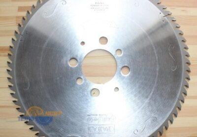 Пильный диск PI-521VS 450*4.4/3.2*80 Z=72 GA HW 2/9/100 2/10/130 4/19/120 2/7/110 (FABA) P2100625-15