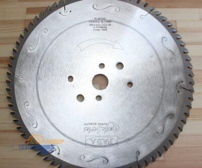 Пильный диск PI-521VS 355×4.4/3.2×60 Z=72 GA HW 2/15/100 2/14/125 2/11/115 (FABA) P2102013-15