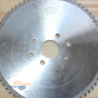 Пильный диск PI-521VS 380*4.4/3.2*60 Z=72 GA HW 2/15/100 2/11/115 2/14/125 (FABA) P2102017-15