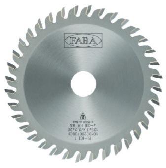 Пильный диск пазовый PI-401S 125*3.4/2.2*20 Z=36 GS HW (FABA) S0100673