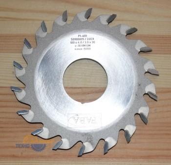 Пильный диск пазовый PI-401 125*8.0/5.0*30 Z=12 GM HW  (FABA) S0100021