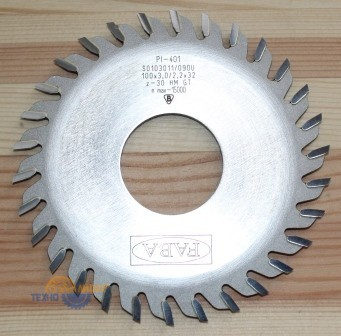 Пильный диск PI-401 100*3.0/2.2*32 Z=30 GT R (FABA) S0103011