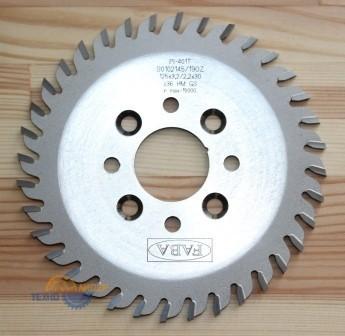 Пильный диск PI-401T 125*3.2/2.2*30 Z=36 GS HW (8 отв. 6.5*48  4pr 4le) (FABA) S0102145