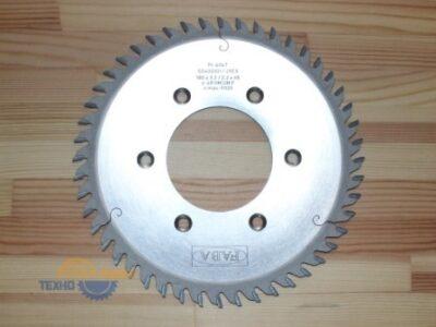 Пильный диск для дробителя PI-404T 180*3.2/2.2*65 Z=54 6/6.5-10.5/90 GM-L HW (FABA) S0400359