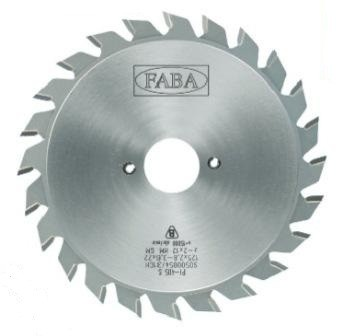 Пильный диск подрезной PI-405T 120×2.8/3.6×22 b=1.0-2.0 Z=2×12 GM HW (FABA) S0500023