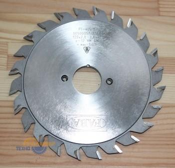 Пильный диск подрезной PI-405S 125*2.8/3.6*22 b=1.0-2.0 Z=2*12 GM HW(FABA) S0500054