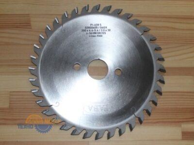 Пильный диск подрезной PI-408S 200×4.4-5.4/3.0×30 Z=36 GR/GS HW (FABA) S0800605