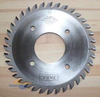 Пильный диск подрезной PI-408S 200*4.8-5.8/3.5*65 Z=36 GR/GS HW 2/10/110 2/10/100 (FABA) S0801358