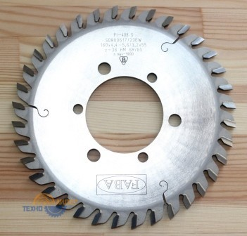 Пильный диск подрезной PI-408S 160*4.4-5.6/3.2*55 Z=36 GR/GS HW 3/7/66 3/9/72 (FABA) S0800617