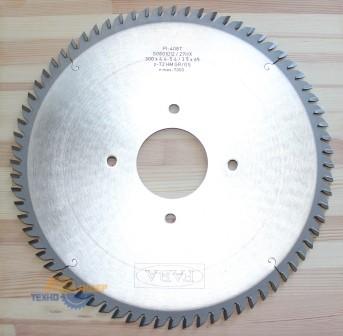 Пильный диск подрезной PI-408T 300*4.4-5.4/3.5*65 Z=72 GR/GS HW 2/9/110 2/9/100(FABA) S0801012
