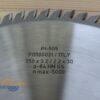 Диск пильный PI-505 350х30*3.2/2.2 Z=84 GS HW 2/10/60+2/7/42+2/9.5/46.5 (FABA) P0500021 13190