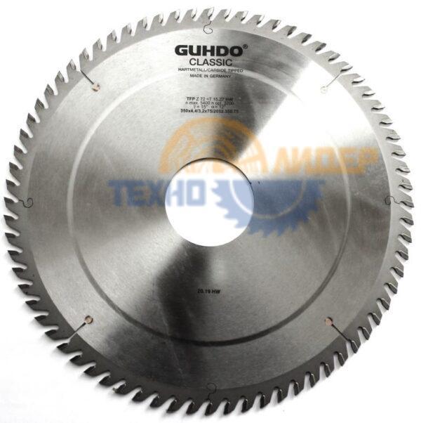 Диск пильный 380х60_4.4/3.2 Z72 TFP 2052.380.61 GUHDO
