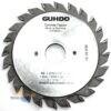 Диск подрезной 120х2.8-3.6х20 Z12+12 2055.120.20 Guhdo