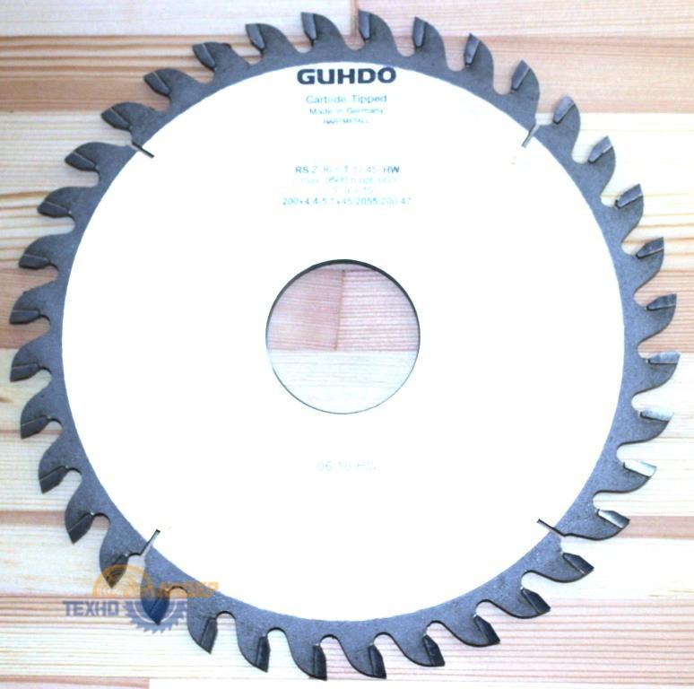 Пильный диск GUHDO 215х4.4-5.1/3.5х50 z42 KW 3/15/80 2055.215.50