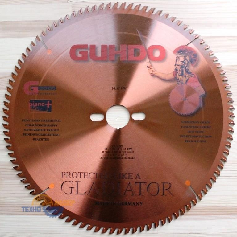 Пильный диск GLADIATOR 300х30*3.2/2.2 Z=96 TF KNL 2039.303C33 (Guhdo)