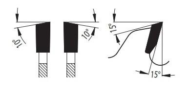 81-26 WZ - пила для распиловки древесины форма зуба
