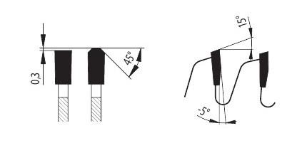 87-13 TFZ N - диски для распиловки цветных металлов PILANA форма зуба