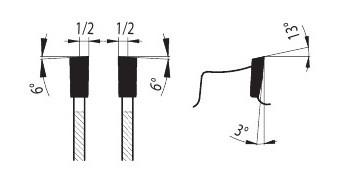 88 WZ_FA - для ручных электрических пил форма зуба PILANA