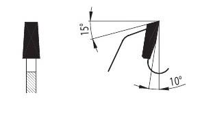 93 KON - подрезные пильные диски форма зуба PILANA