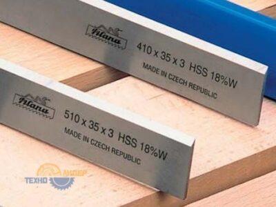 """Нож строгальный """"Pilana"""" HSS 18% W 410x35x3"""
