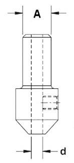 Втулка переходная D=3 фото чертеж