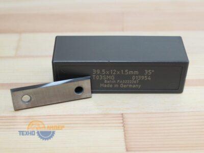 Пластина твердосплавная 39.5х12х1.5 мм z=4 T03SMG (Tigra) 013954